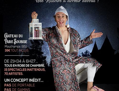 Première « Nuit blanche de la robe de chambre »,  le samedi 16 mai